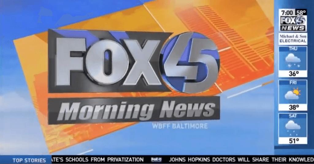 , Shmuel Fischler on Fox45 Morning News: Shopping Addiction, CBT Baltimore, CBT Baltimore